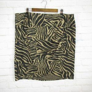 Lane Bryant Size 22 Cheetah Animal Print Skirt